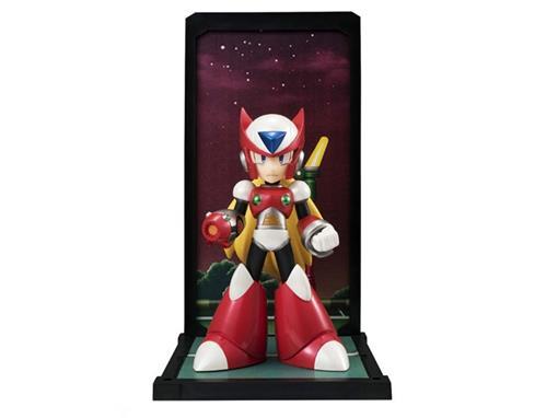 Estatueta Zero - Megaman X  - Tamashii Buddies #017  - Bandai