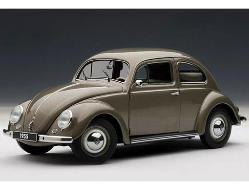 Volkswagen:  Beetle (Fusca) 1200 Limousine (1955) - 1:18 - Autoart
