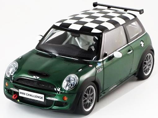 Mini Cooper: S - John Cooper Works Challenge - Verde - 1:18 - Kyosho