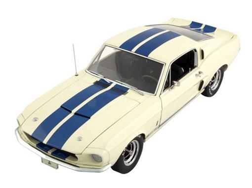 Ford: Shelby GT350 (1967) - Creme - 1:18 - ExactDetail
