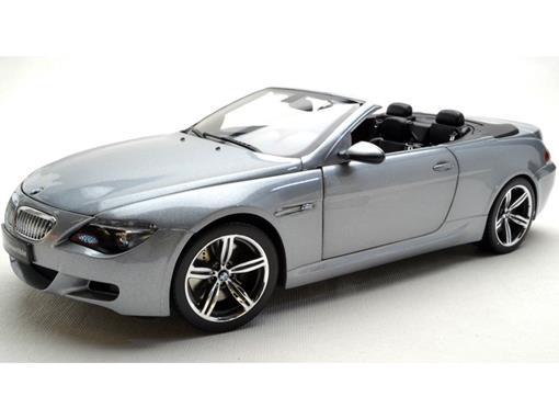 BMW: M6 Conversível - Prata - 1:18 - Kyosho