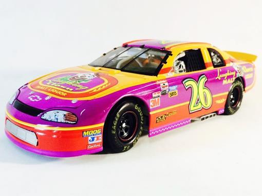 Chevrolet: Monte Carlo - Ricky Bobby #26 - Laughing Clown Malt Liquor / Talladega Nights ( Nascar 1996) - 1:24 - Action