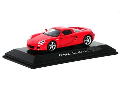 Porsche: Carrera GT - Vermelho - 1:64 - Autoart