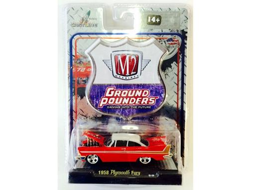 Plymouth: Fury (1958) - Ground Pounders - 1:64 - M2 Machines