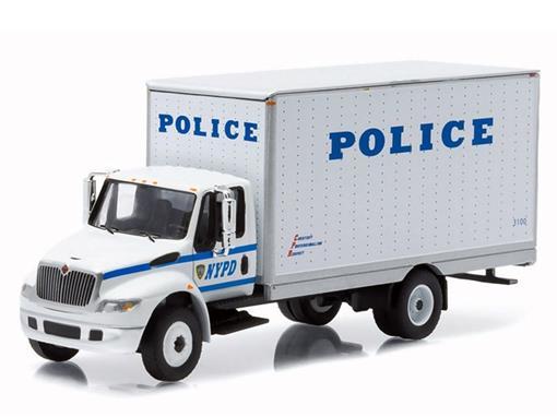International Durastar:  Police - H.D Trucks - 1:64 - Greenlight