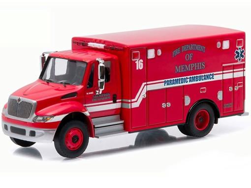 International DuraStar: Ambulance - HD Trucks - Série 5 - 1:64 - Greenlight