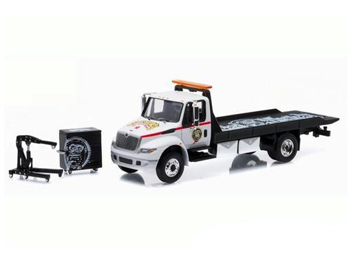 International DuraStar: 4400 Flatbed - Gas Monkey Garage - 1:64 - Greenlight