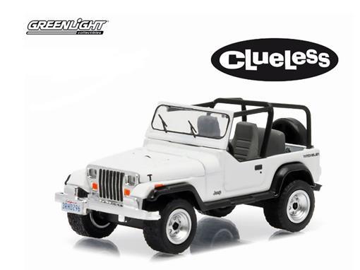 Jeep: Wrangler YJ (1994) - Clueless - Hollywood - Série 12 - 1:64 - Greenlight