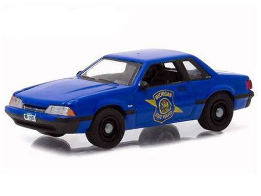 Ford: Mustang (1992) - Hot Pursuit - Série 16 - 1:64 - Greenlight