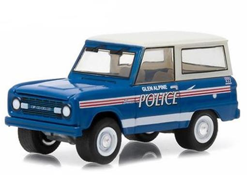 Ford: Bronco (1967) - Polícia - Hot Pursuit - Série 16 - 1:64 - Greenlight