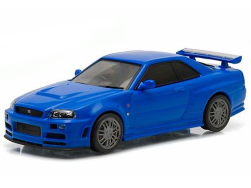 Nissan: Skyline GT-R (2002) - Velozes e Furiosos 7 - 1:43 - Greenlight