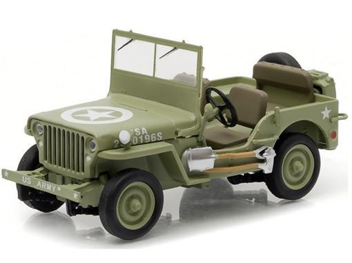 Jeep: Willys C7 (1944) - U.S Army - 1:43 - Greenlight