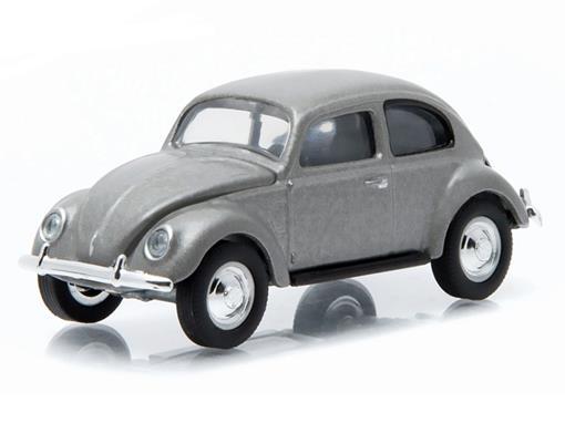 Volkswagen: Type 1 Split Window Beetle / Fusca (1940) - Club V-Dub - Série 2 - Cinza - 1:64 - Greenlight
