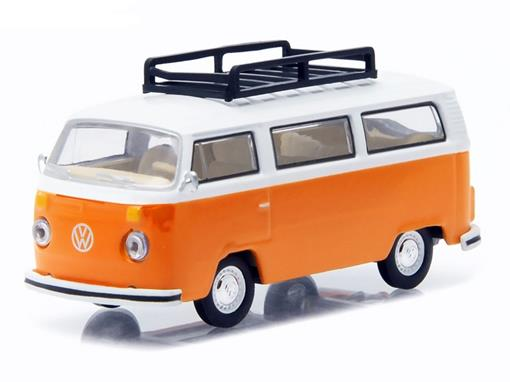Volkswagen: Type 2 Bus / Kombi (1974) - Club V-Dub - Série 2 - 1:64 - Greenlight