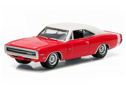 Dodge: Charger R/T Hemi (1970) - Banett Jackson - Série 1 - 1:64 - Greenlight