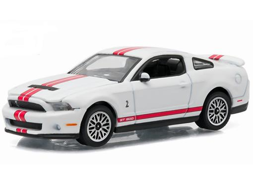 Ford: Shelby GT-500 (2012) - Branco - GL Muscle - Série 15 - 1:64 - Greenlight