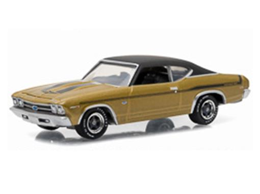 Chevrolet: Chevelle Yenko Copo (1969) - Dourado - GL Muscle - Série 15 - 1:64 - Greenlight