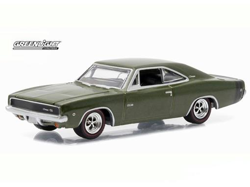 Dodge: Hemi Charger R/T (1968) - GL Muscle - Série 15 - 1:64 - Greenlight