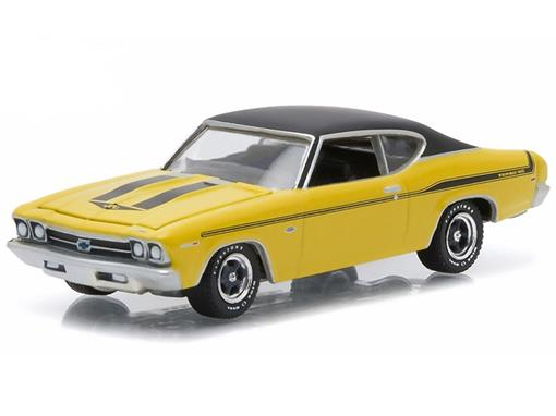 Chevrolet: Chevelle Yenko Copo (1969) - Amarelo - GL Muscle - Série 14 - 1:64 - Greenlight