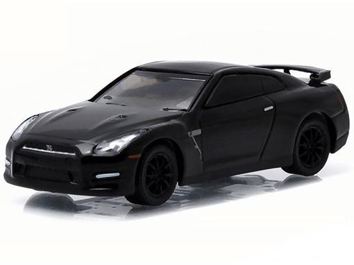 Nissan: GT-R R35 2015 - Black Bandit - Série 13 - 1:64 - Greenlight
