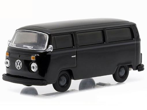 Volkswagen: Type 2 Kombi (1978) - Black Bandit - Série 14 - 1:64 - Greenlight