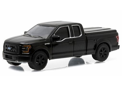 Ford: F-150 XL Pickup (2015) - Black Bandit - Série 14 - 1:64 - Greenligh
