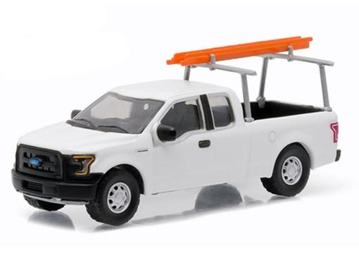 Ford: F-150 XL (2015) - Branco - Country Roads - Série 14 - 1:64 - Greenlight