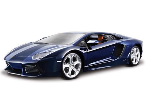 Lamborghini: Aventador LP 700-4 - Azul - 1:18 - Burago
