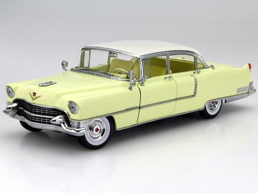 Cadillac: Fleetwood (1955) - Amarelo - Series 60 Special - 1:18 - Greenlight
