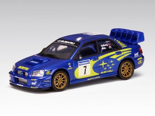 Subaru: Impreza WRC (2003) #7 P. Solberg / P. Mills - 1:64 - Autoart