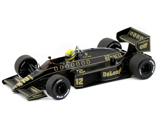 Lotus Renault: 98T (1986) - #12 Ayrton Senna  - 1:18 - Minichamps