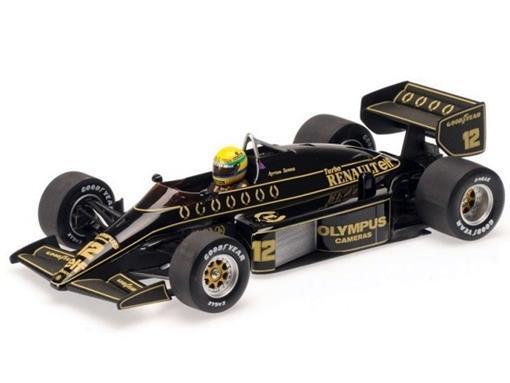 Lotus Renault: 97T (1985) - #12 Ayrton Senna - 1:18 - Minichamps