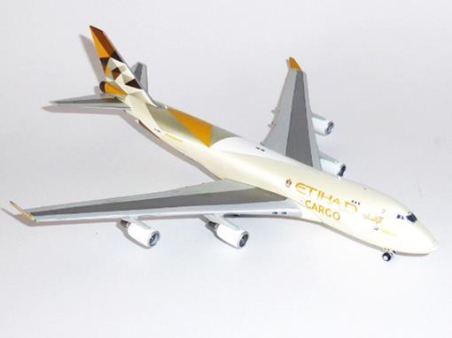 Etihad Cargo: Boeing 747-400F - 1:400 - Gemini Jets