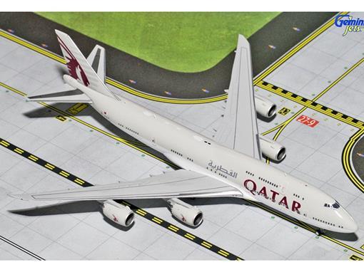 Qatar Airways: Boeing 747-8i - 1:400 - Gemini Jets