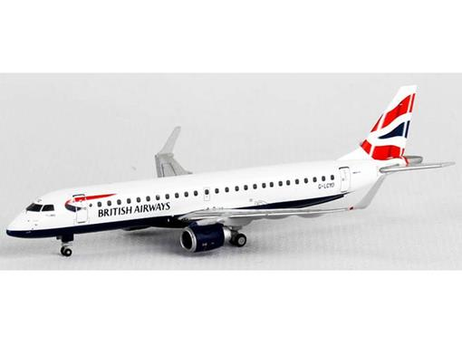 British Airways: Embraer ERJ-190 - 1:400 - Gemini Jets
