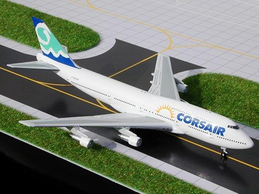Corsair: Boeing 747-300 F-GSUN - 1:400 - Gemini Jets