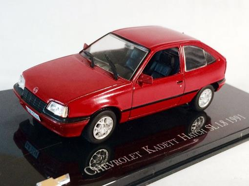 Chevrolet: Kadett Hatch SL 1.8 (1991) - Vermelho - 1:43 - Ixo