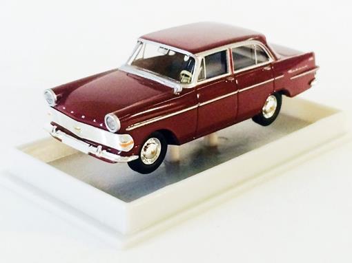 Opel: Rekord P II Limousine - Borgonha - HO - 1:87 - Brekina