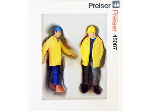 Pack Figuras de Trabalhadores de Indústria - 1:22,5 - Preiser