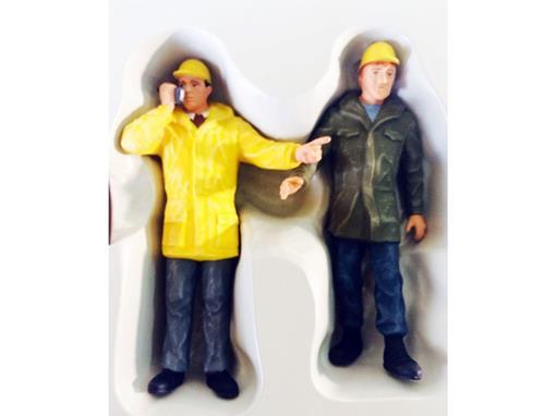 Pack de Figuras de Trabalhadores de Indústria - 1:22,5 - Preiser