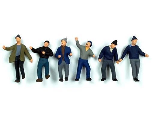 Set Figuras de Trabalhadores - 1:50