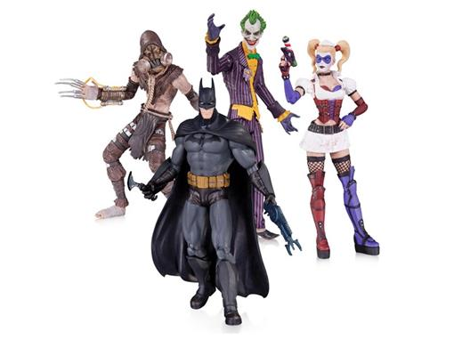 Set: Batman Arkham Asylum - 4 Pack - DC Collectibles