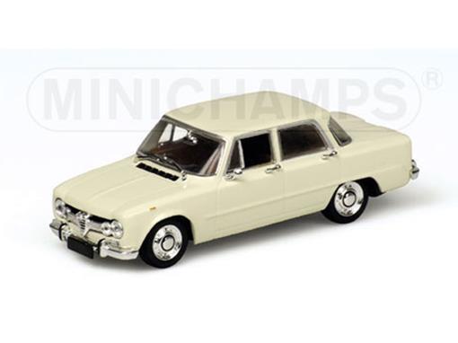 Alfa Romeo: Giulia (1970) - Creme - 1:43 - Minichamps