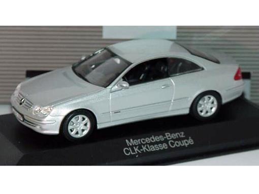 Mercedes Benz: CLK- Klasse Coupé (Prata) - 1:43 - Minichamps