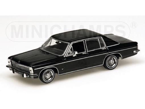 Opel: Diplomat (1968) - Preto - 1:43 - Minichamps