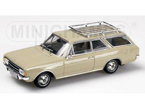 Opel: Rekord C Break (1966) - Bege - 1:43 - Minichamps