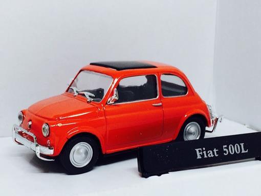 Fiat: 500L - Vermelho - 1:43 - Cararama