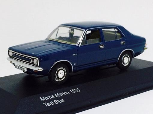 Morris Marina: 1800 - Vanguards - Azul - 1:43 - Corgi