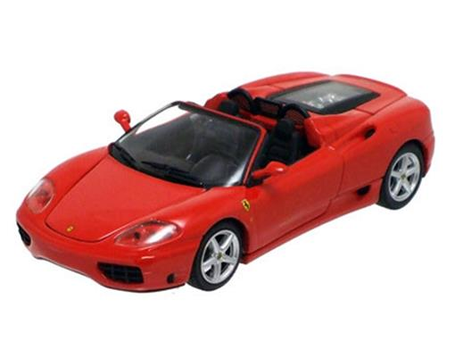 Ferrari: 360 Spider - Vermelha - 1:43 - Kyosho