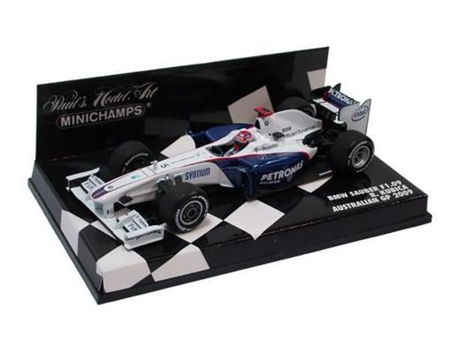 Bmw Sauber F1: 09 - R. Kubica - Australian GP (2009) - 1:43 - Minichamps
